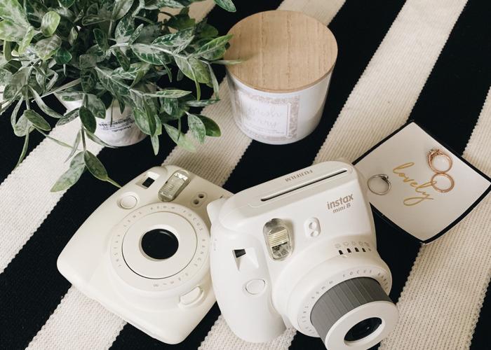 Two Fujifilm Instax Mini 8 Instant Cameras - 1