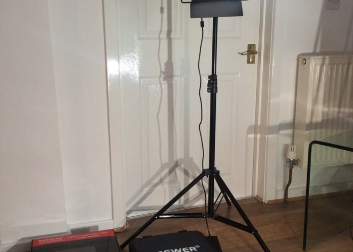 Two Neewer 660 LED Filming Lights - 1