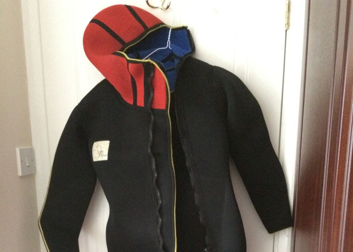 Two pieces wetsuit 8mm - 1