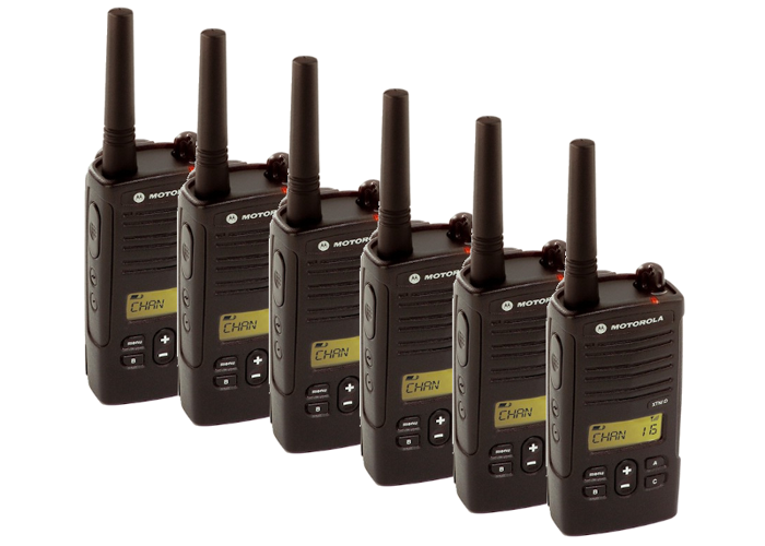 Two-Way Radio Kit x6 / Walkie Talkies Motorola XTNiD  - 2