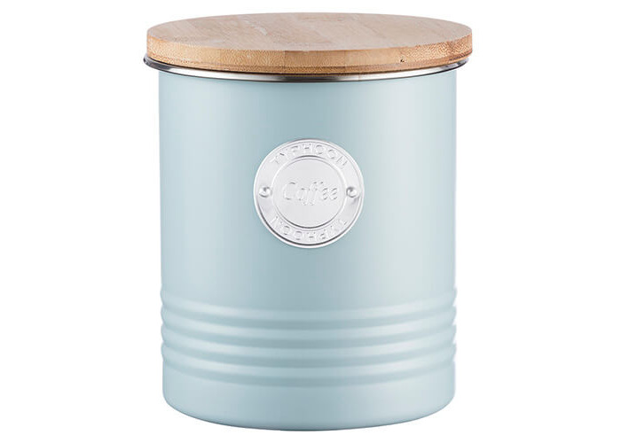 Typhoon Living Coffee Canister Blue 1 Litre - 1