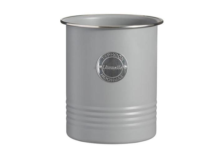 Typhoon Living Grey Utensil Jar - 1