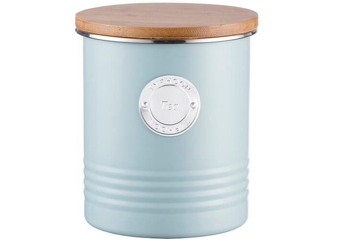 Typhoon Living Tea Canister Blue 1 Litre - 1