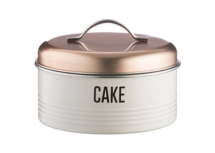 Typhoon Vintage Copper Cake Storage - 1