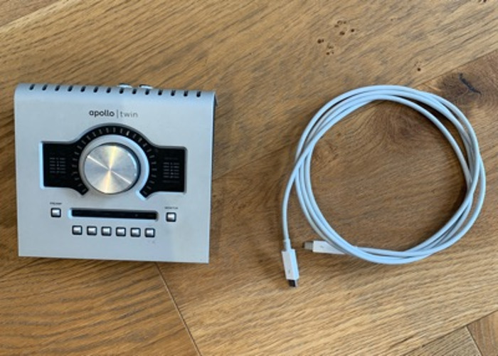UAD Apollo Twin, with Thunderbolt Cable - 1