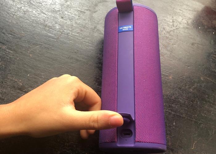 UE Boom 3 Bluetooth Speaker (Purple) - 2