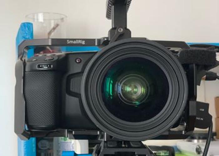 Ultimate Filmmakimg RAW Combo [BMPCC4k+SIGMA 18-35 1.8] - 2
