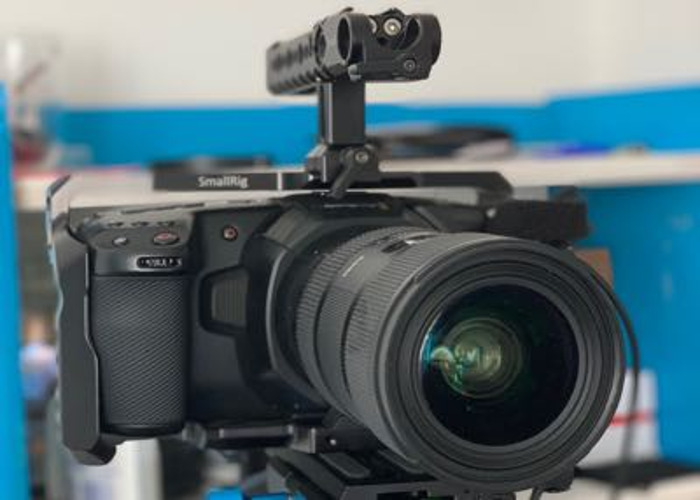 Ultimate Filmmakimg RAW Combo [BMPCC4k+SIGMA 18-35 1.8] - 1