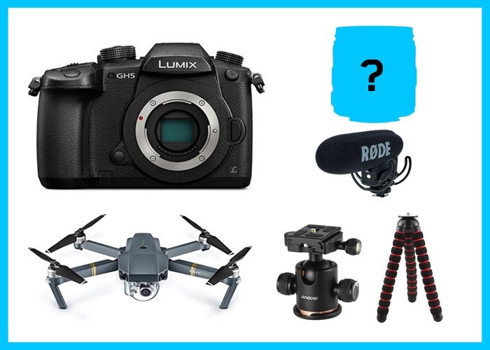 Ultimate Travel Filmmaking Set GH5 DJI Mavic Pro Rode - 1