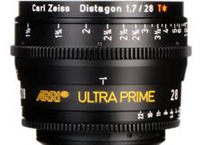 Ultra Prime 28mm T1.9 lens - 1