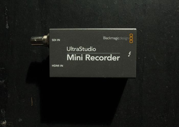 Ultra Studio Mini Recorder  - 1