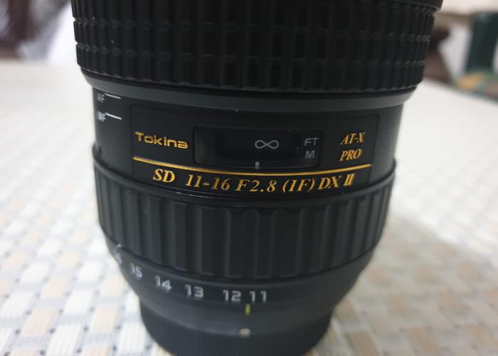 Ultra Wide Angle Tokina 11-16 f/2.8 DX II for Nikon Lens - 1