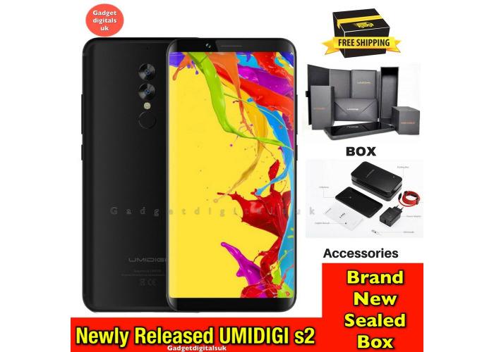 Buy UMIDIGI S2 4G Android 6 0 Helio P20 Octa Core 32GB+4