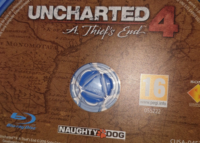 Uncharted 4 a thief's end for rent on the ps4 - 2