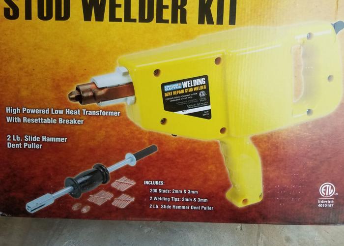 Uni spotter stud welder - 1
