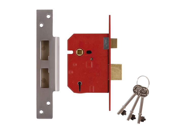UNION 2234E BS 5 Lever Sashlock - 67mm SC KA  - 1