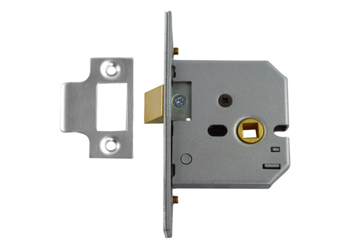 UNION 2677 Mortice Latch - 64mm SC  - 1