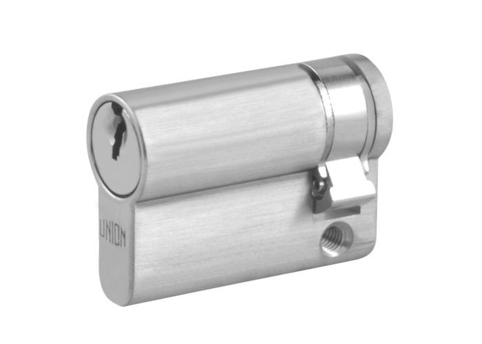 UNION 2X20A Euro Half Cylinder - 45mm (35/10) KD SC - 1