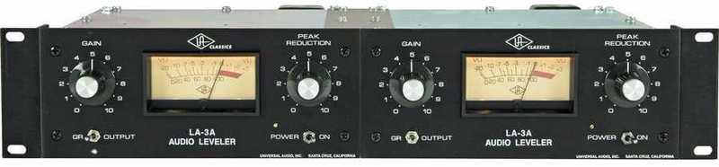 Universal Audio Dual LA-3A Compressor - 1