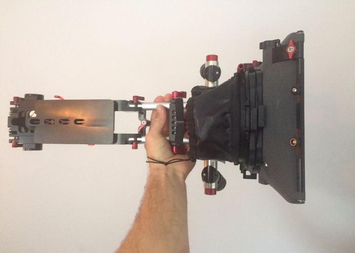 Universal Camera shoulder rig with Mattebox and handles - 2