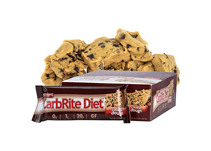 Universal Nutrition Doctor's Diet CarbRite Bar Cookie Dough 12 bars - 1