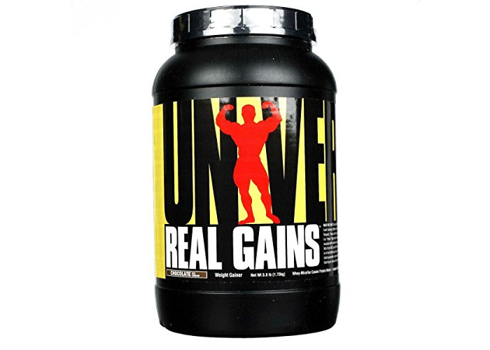 Universal Nutrition Real Gains, Chocolate Ice Cream, 3.8-Pounds - 1