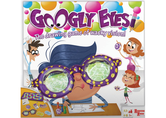 University Games Googly Eyes Board Game - 2