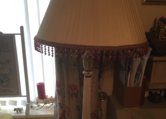 Up-cycled Standard Vintage Lamp - 1