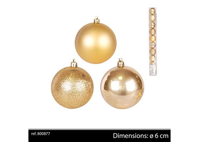 Image Brillante De Noel.Buy Urban Deco 800877 Lot 10 Boules De Noel Mat Brillantes