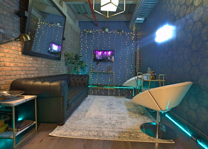 Urban-Chic Industrial Lounge - 1
