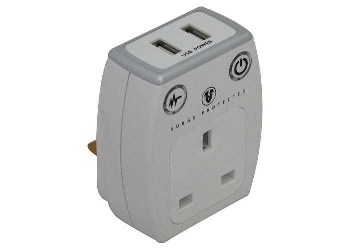 USB Charger With Surge Protection - 1
