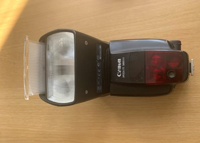 Used Canon 580EX II Speedlite - 2