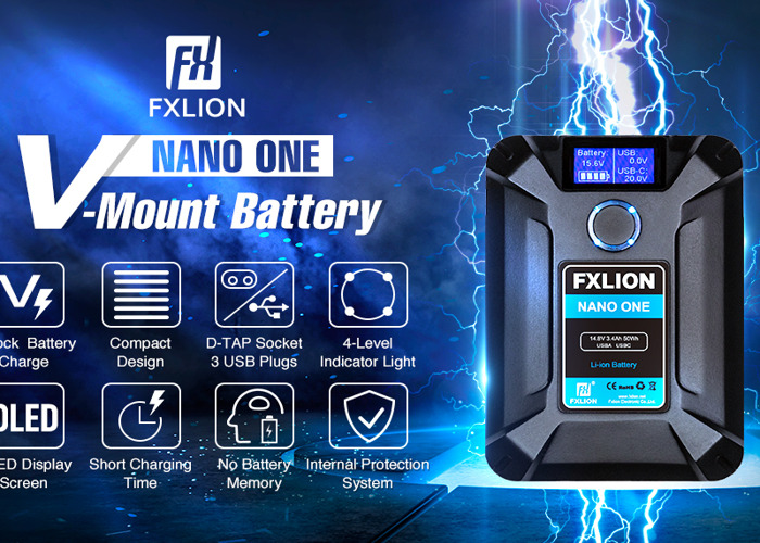V lock battery 14000mAh D tap / fxlion  - 1