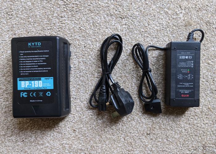 V Lock Battery KYTD 190Wh (13400mAh 14.4V) - 1