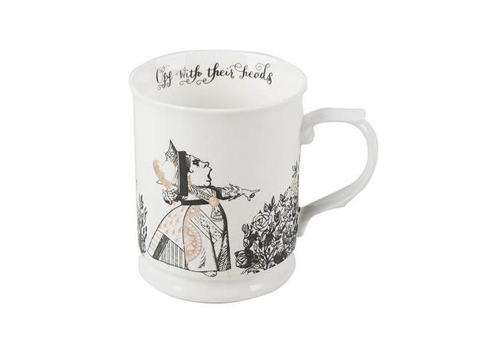 V&A Alice in Wonderland Fine China Tankard Mug - 1