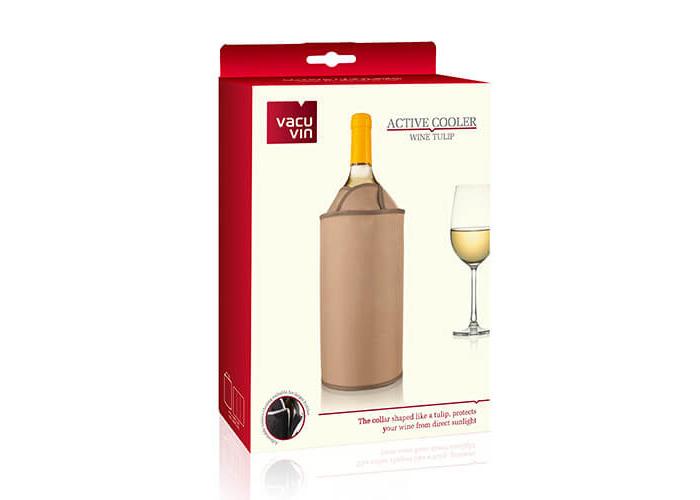 Vacu Vin Active Cooler Wine Tulip Brown - 2
