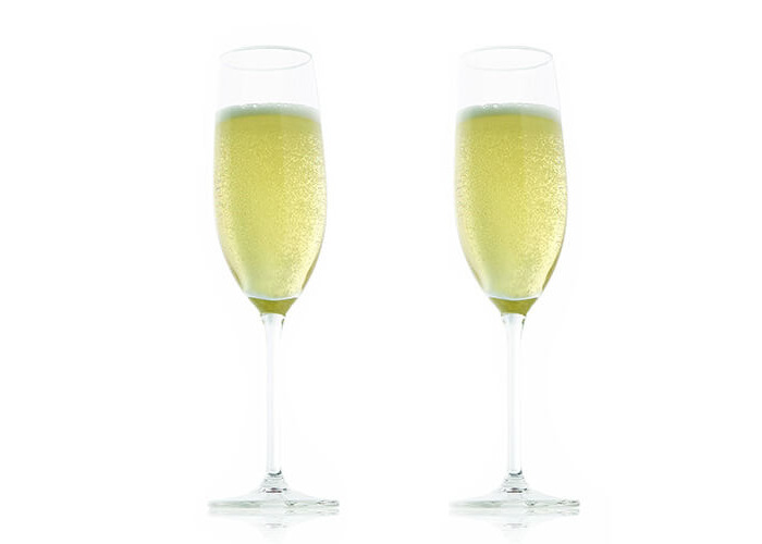 Vacu Vin Champagne Glass (21 cl / 7.25 oz) - Set of 2 - 1