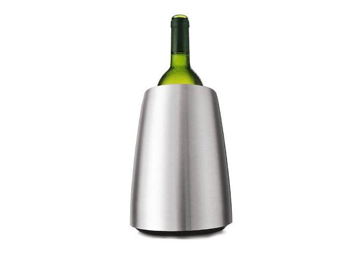 Vacu Vin Rapid Ice Elegant Wine Cooler - Stainless Steel - 2