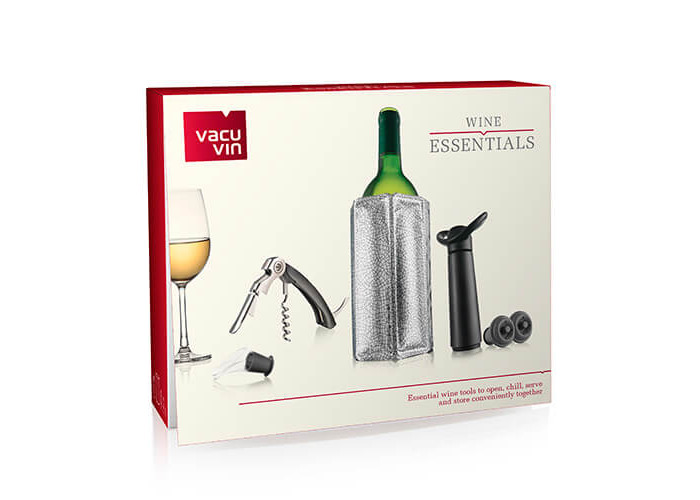 Vacu Vin Wine Essentials Gift Set - Black - 2