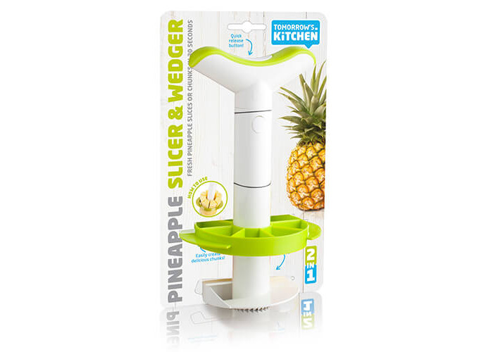 Vacuvin Pineapple Easy Slicer with Wedger - 1