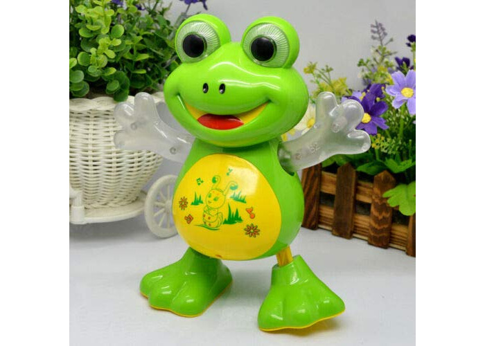 Value For Money Light-Up-Dancing-Toy-Singing-Frog-Musical-LED-Animals-Toys-Electronic-Frog-Plays music and has flashing lights - 1