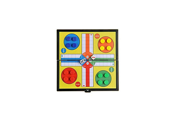 Value For Money MINI MAGNETIC TRAVEL GAME LUDO UK FAST DISPATCH 12 x 12 CM - 1