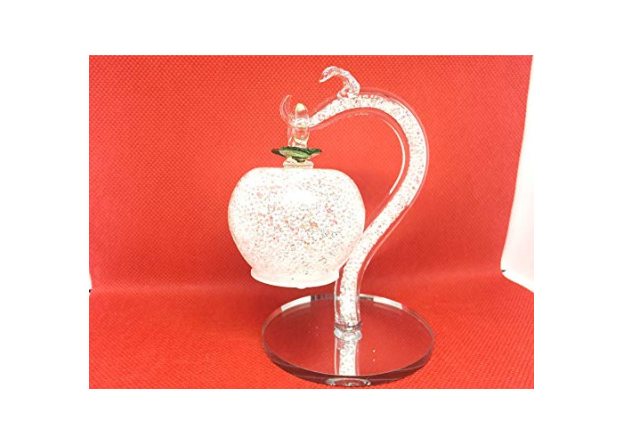 Value for Money-Nice Clear Crystal tree with Clear apple for Gift & Home Decorative in Gift Box - 1