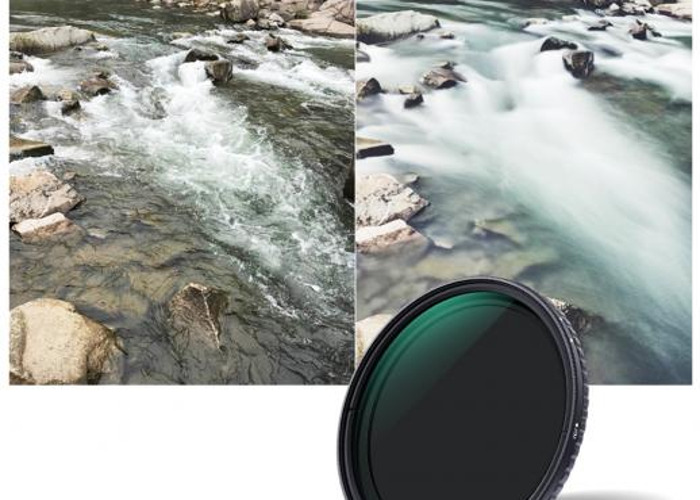 Variable ND 82mm slim filter ND2 to ND400 - 1