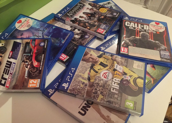 Various Ps4 Games - 1