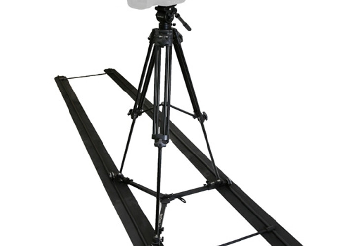 Varizoom solo Jib with Track and Carbonfiber Tripod - 1