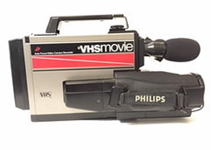 vhs vintage video camera - 1