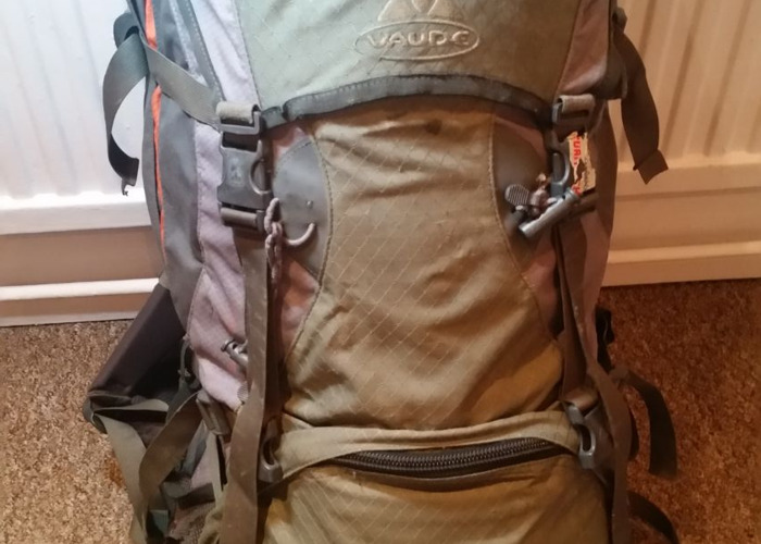 Vaude Formula 60litre II M Backpack: Used but Fully Working - 1