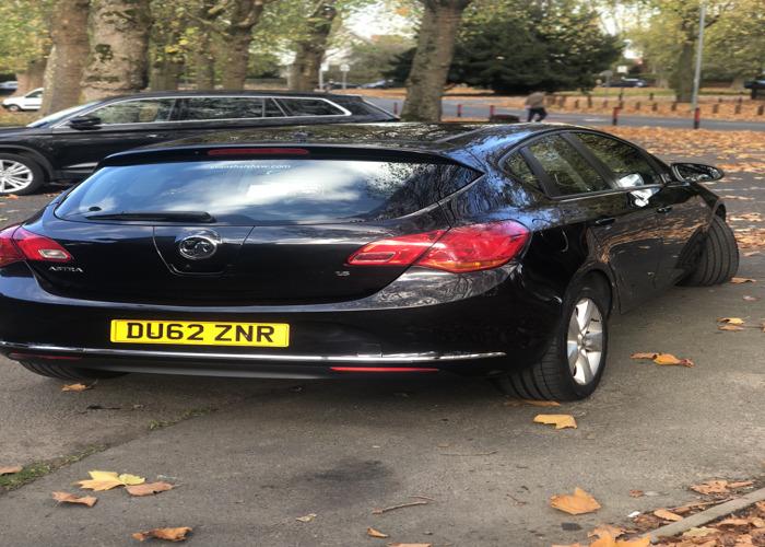Vauxhall astra 2012  - 2