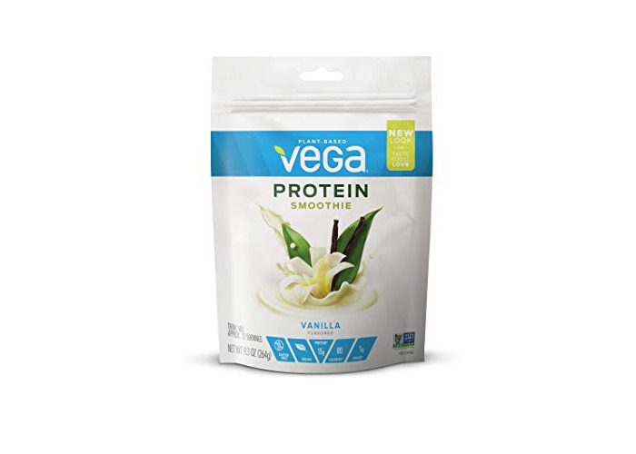Vega (Sequel) Naturals, Energizing Smoothie, Vanilla Almondilla, 9.3 oz (264 g) - 1